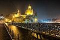 Tbilisi, Metekhi Church, King Vakhtang.jpg
