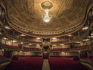 Teatro Municipal of Caracas - Interior del Teatro Municipal de Caracas, Venezuela.