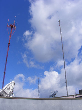 Woodberry, Baltimore - Television Hill's TV towers