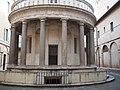 Tempietto del Bramante Rückseite.jpg