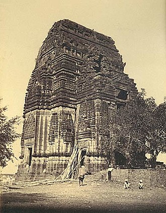 Dravidian architecture - The Teli ka Mandir in Gwalior Fort