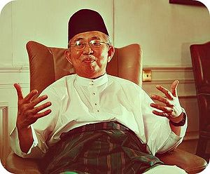 Malaysian general election, 1995 - Image: Tengku razaleigh