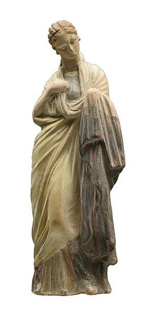 Coroplast (artisan) - 3rd century BCE Greek terracotta figurine