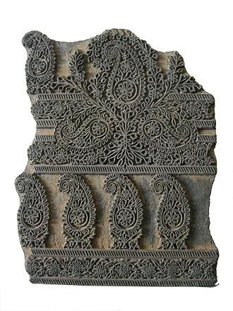 Chhipa - A traditional stencil used to block print fabrics