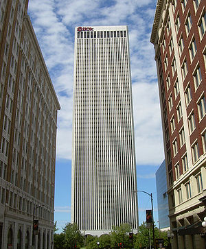 Buildings of Tulsa, Oklahoma - Image: The BOK Building