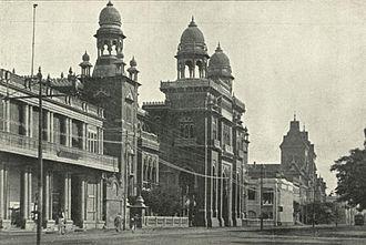 Bank of Madras - The Bank of Madras, c. 1905