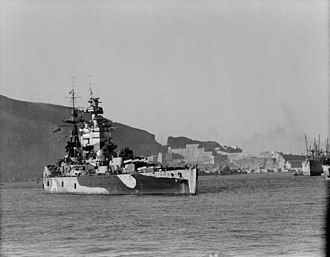 HMS Nelson (28) - Nelson in Mers-el-Kebir during Operation Torch, November 20, 1942