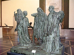 Rodin Museum - Image: The Burghers of Calais Philadelphia
