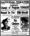 The Climbers 1916 newspaperad.jpg