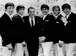 The Dave Clark Five with Ed Sullivan.JPG