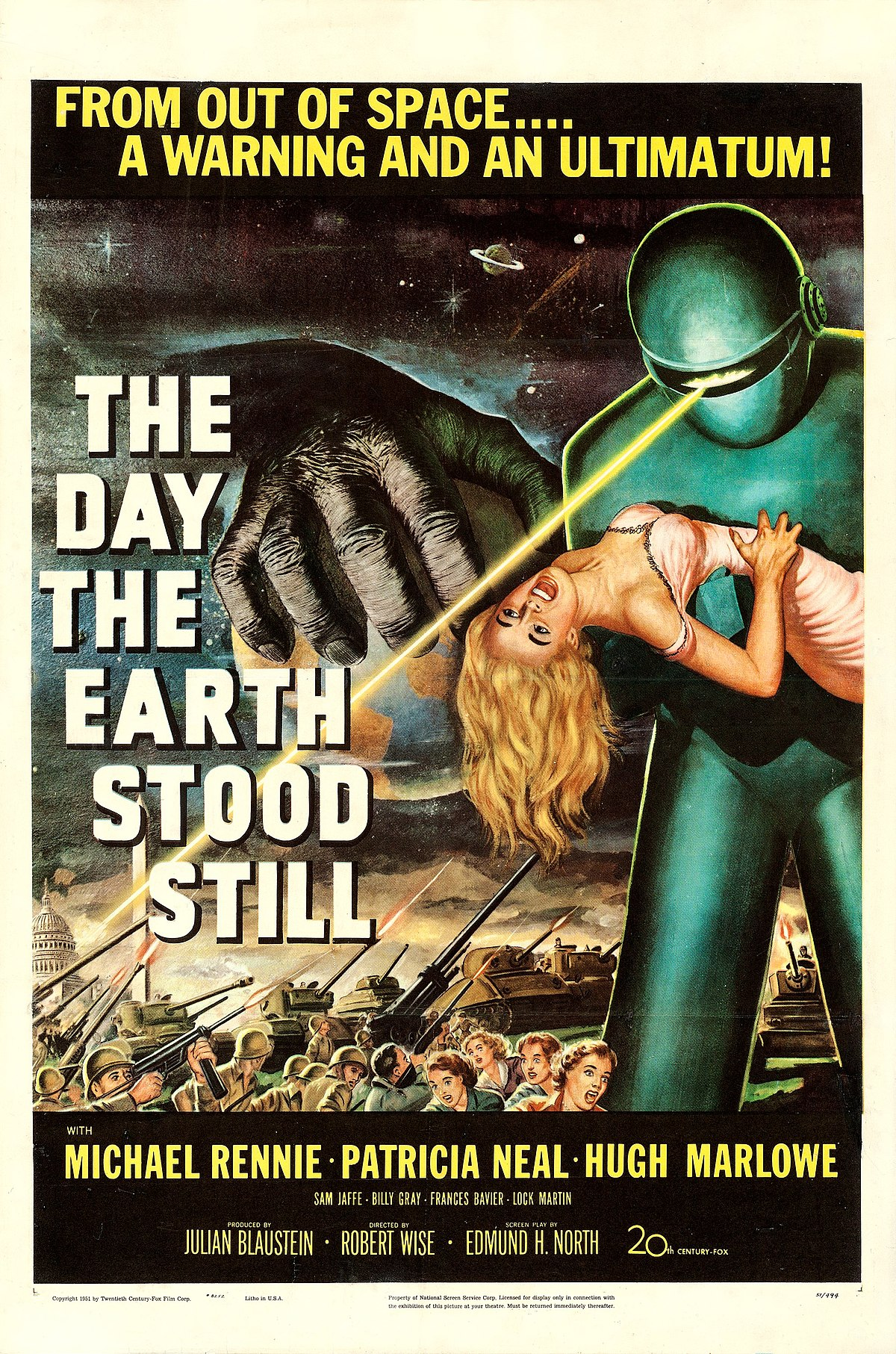 Billy Tv Kast.The Day The Earth Stood Still Wikipedia