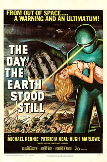 <i>The Day the Earth Stood Still</i> 1951 US science fiction film directed by Robert Wise