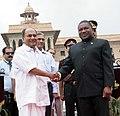 The Defence Minister, Shri A. K. Antony meeting the Defence Minister of Mozambique, Mr Filipe Jacinto Nyusi, in New Delhi on June 28, 2011.jpg