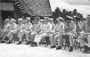 The High Command Assembled on Guadalcanal in 1943