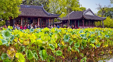 The Humble Administrator's Garden, one of the classical gardens of Suzhou. The Humble Administrator's Garden, Suzhou, China (37825378061).jpg