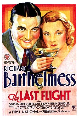 The Last Flight (1931 film) - Theatrical release poster