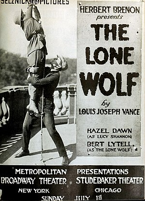 The Lone Wolf (film) - Advertisement in Moving Picture World