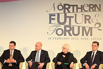 Northern Future Forum - Opening session of the Riga meeting 2013