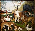 The Peaceable Kingdom by Edward Hicks, c. 1846, oil on canvas - De Young Museum - DSC01288.JPG