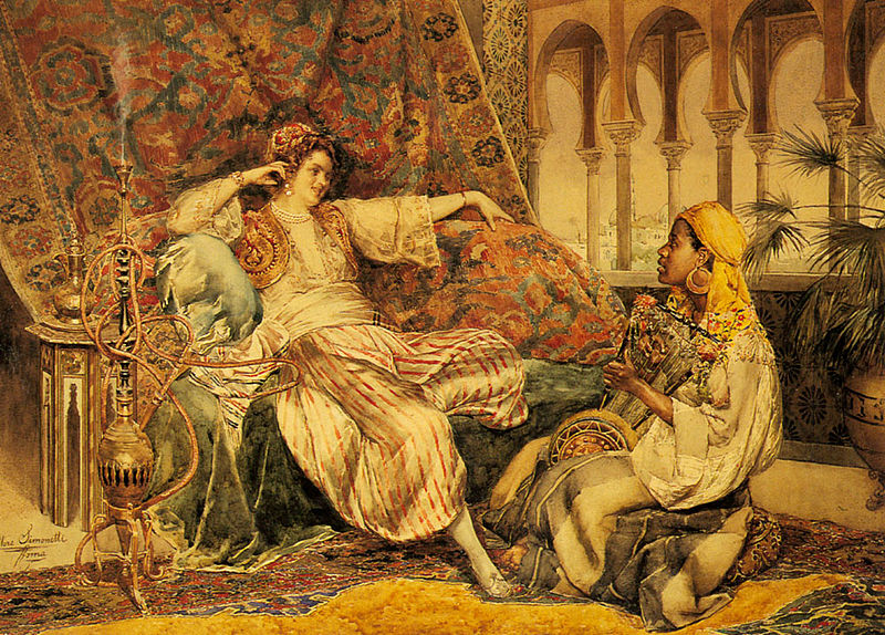 File:The Serenade In The Palace by Ettore Simonetti.jpg