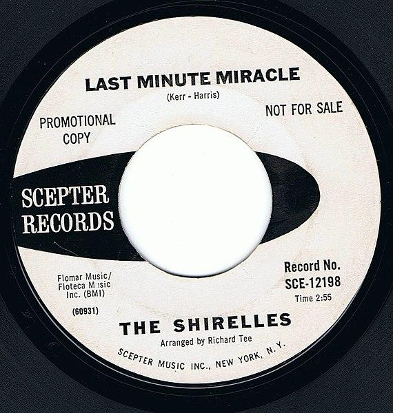 File:The Shirelles - Last Minute Miracle.jpg