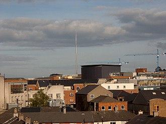 Spire of Dublin - Image: The Spire of Dublin from far