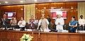 The Union Home Minister, Shri Rajnath Singh launching the e-FRRO web portal, at a function, in New Delhi on April 13, 2018. The Union Home Secretary, Shri Rajiv Gauba and the Director, IB, Shri Rajiv Jain are also seen.jpg