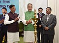 The Union Minister for Agriculture and Farmers Welfare, Shri Radha Mohan Singh lighting the lamp on the occasion of the World Fisheries Day 2016, in New Delhi.jpg
