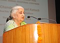 The Union Minister for Culture, Smt. Chandresh Kumari Katoch addressing at the inauguration of the Training Programme for Directors, Zonal Cultural Centres, in New Delhi on June 25, 2013.jpg