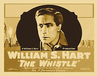 The Whistle (1921 film) - Lobby card