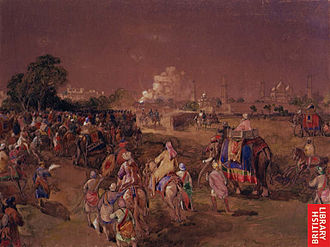 Charles Canning, 1st Earl Canning - The arrival of Lord Canning at Lahore