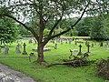 The churchyard at All Saints, Longhope - geograph.org.uk - 487152.jpg