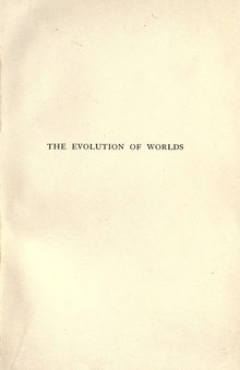 The evolution of worlds - Lowell.djvu
