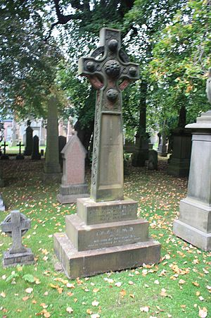 Daniel Rutherford Haldane - The grave of Daniel Rutherford Haldane, Dean Cemetery