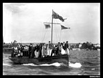 The launch AUSTRALIA with spectators sailing on the harbour (7155189160).jpg