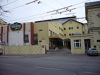 The main entrance of Starobrno brewery.JPG