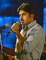 The noted Telugu film actor Shri Pavan Kalyan addressing at the closing ceremony and award function of the 18th International Children's Film Festival India, in Hyderabad on November 20, 2013 (cropped).jpg