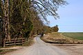 The road to West Hendred from East Ginge - geograph.org.uk - 1761216.jpg