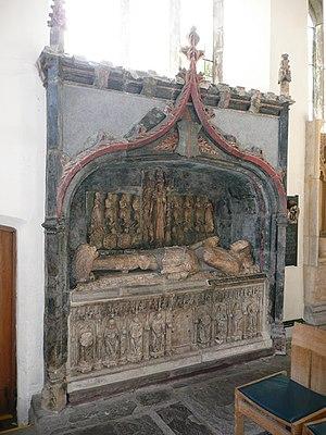 Sir Richard Herbert - The tomb of Sir Richard Herbert of Ewyas (died 1510) – geograph.org.uk – 710352