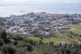 Widok miasta ze starożytnej cytadeli
