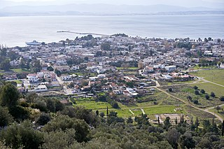 Eretria Place in Greece