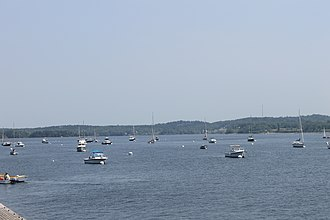 Castine, Maine - Waterfront in Castine