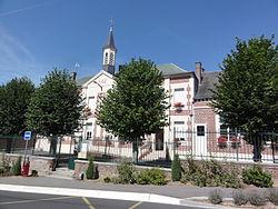 Thenelles (Aisne) mairie.JPG