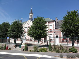 The town hall of Thenelles