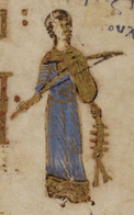 Fiddle from the Theodore Psalter