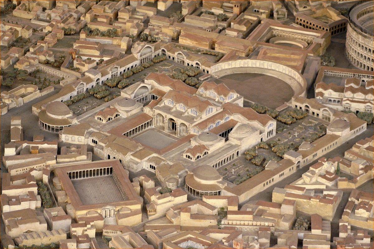 Ricostruzione Della Villa Romana Tardo Repubblicana Podere Rosa Roma