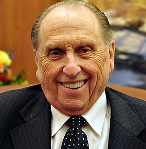President of the Church (LDS Church) - Thomas S. Monson, 16th President of The Church of Jesus Christ of Latter-day Saints