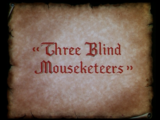 <i>Three Blind Mouseketeers</i> 1936 American film