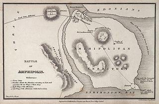 Battle of Amphipolis battle