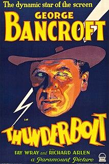 <i>Thunderbolt</i> (1929 film) 1929 film